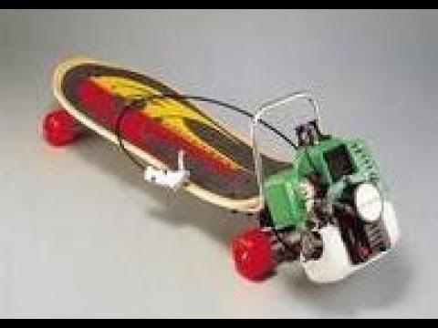 لوح تزلج سريع بمحرك كهربائي