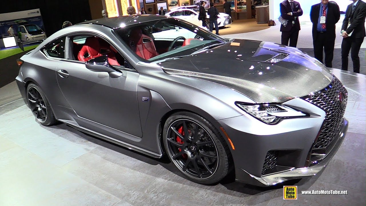2019 Lexus Rcf Track Edition Exterior And Interior Walkaround