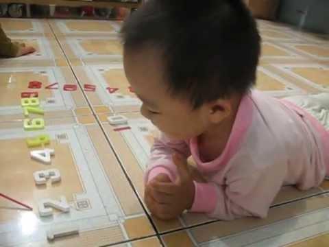 2 tuổi - Bôn đếm số bằng tiếng anh đến 100