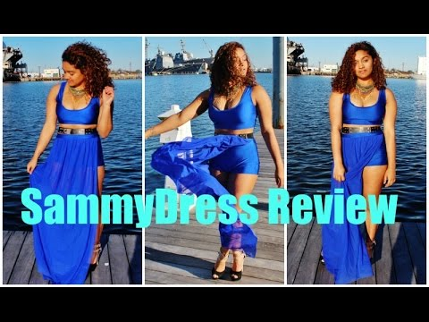 a361c1f902 Sammydress Review  Mini Try On Haul - YouTube