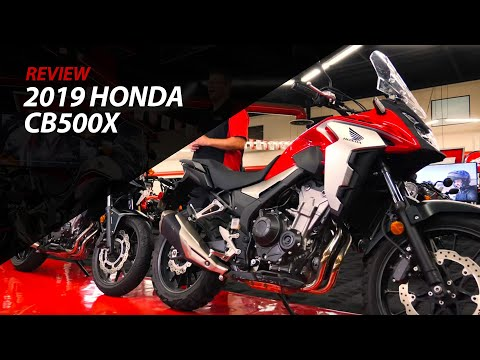2019 Honda CB500X Review - The Ultimate Middle Weight Adventure Bike & Detailed Breakdown