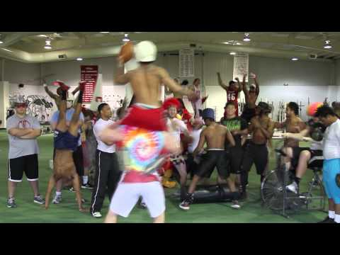 official Coffeyville Community College Red Raven Football Harlem Shake