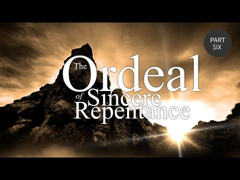 The Ordeal of Sincere Repentance Part 6 - Shaykh Riyadh ul Haq