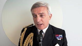 Royal Navy's Jones on Queen Elizabeth's Deployment to US, Rebuilding Carrier Strike Capability