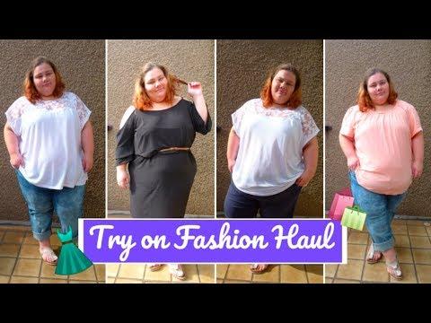 KIK Fashion HAUL 🛍 ⎮ TRY ON 👗 ⎮ PLUS SIZE ⎮ Jessi