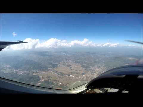 Lao SKyway Flight from Samneua to Vientiane capital with Cessna c208 grand caravan