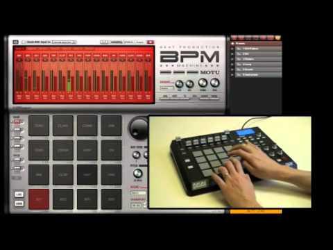 motu bpm beat production machine virtual instrument youtube. Black Bedroom Furniture Sets. Home Design Ideas