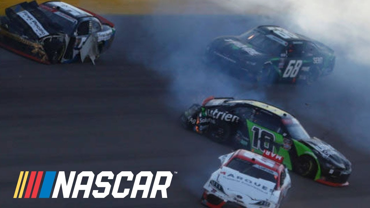 Jeb Burton: 'Not sure' why we were four-wide early | NASCAR Xfinity Series