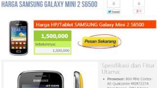 Harga Hp Samsung Galaxy Mini 2 S6500