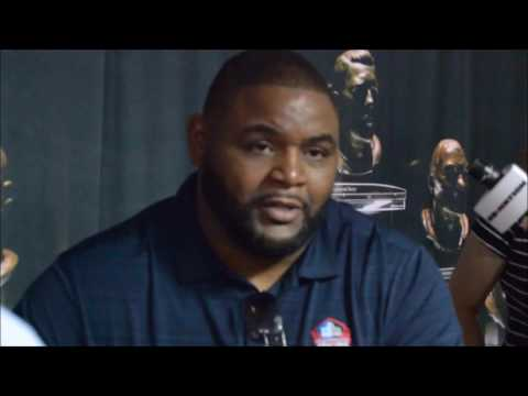 Orlando Pace Talks On Being A Great Citizen