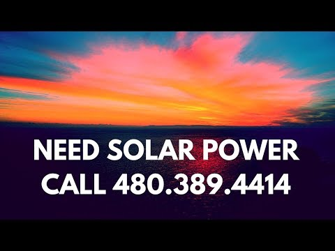 Best Residential Commercial Portable Renewable Solar Power Energy System Peoria AZ