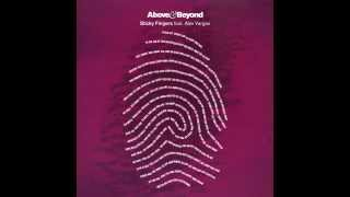 Above & Beyond feat. Alex Vargas - Sticky Fingers (Cover Art)