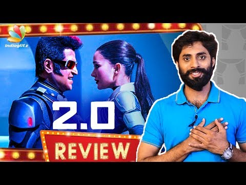 2.0 Tamil Movie Review   Rajinikanth, Director Shankar, Akshay Kumar   Enthiran 2