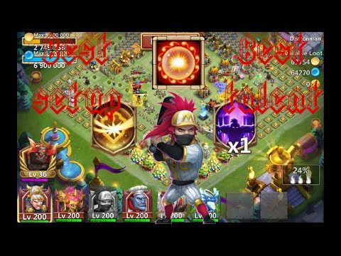 Survival | Vs | Nimble | Vs | Scorch | 12 Skill | Ronin | Gameplay | Castle Clash