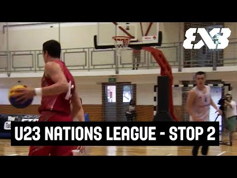 FIBA 3x3 U23 Nations League 2017 - Re-Live - STOP 2 Pool Stage - Szolnok, Hungary