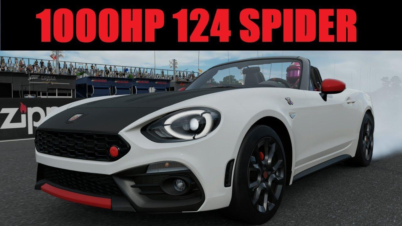 1000hp V8 Swed Abarth 124 Spider Forza Motorsport 7 Play