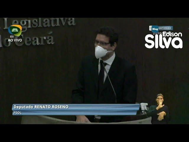 Renato Roseno pede atenção aos órfãos da Covid-19