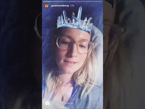 Ingrid Michaelson Great Comet instagram takeover (morning) // August 1