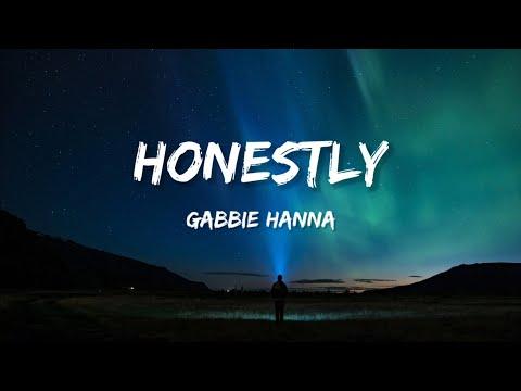 Gabbie Hanna - Honestly (Lyrics)