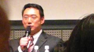 あるイベントで阪神の金本のトークショーに行ってきました!