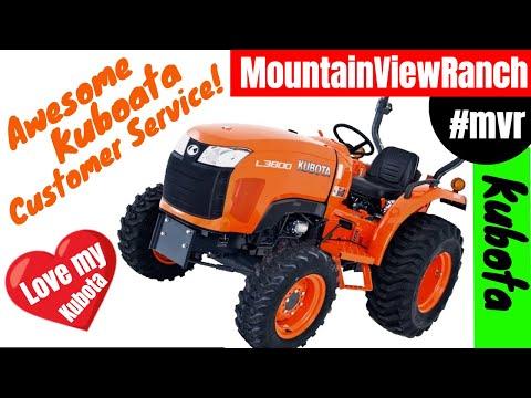 Mountain View Ranch - Road Work - Great Kubota Customer Service!