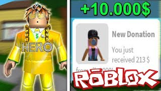 A NEW LOOK AND GREAT DONATION! (ROBLOX BLOXBURG)