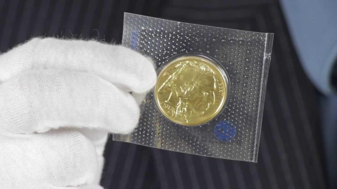 1 Oz American Gold Buffalo 9999 Fine