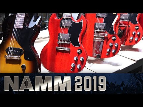 Gibson Bring the Factory to the Booth - NAMM 2019