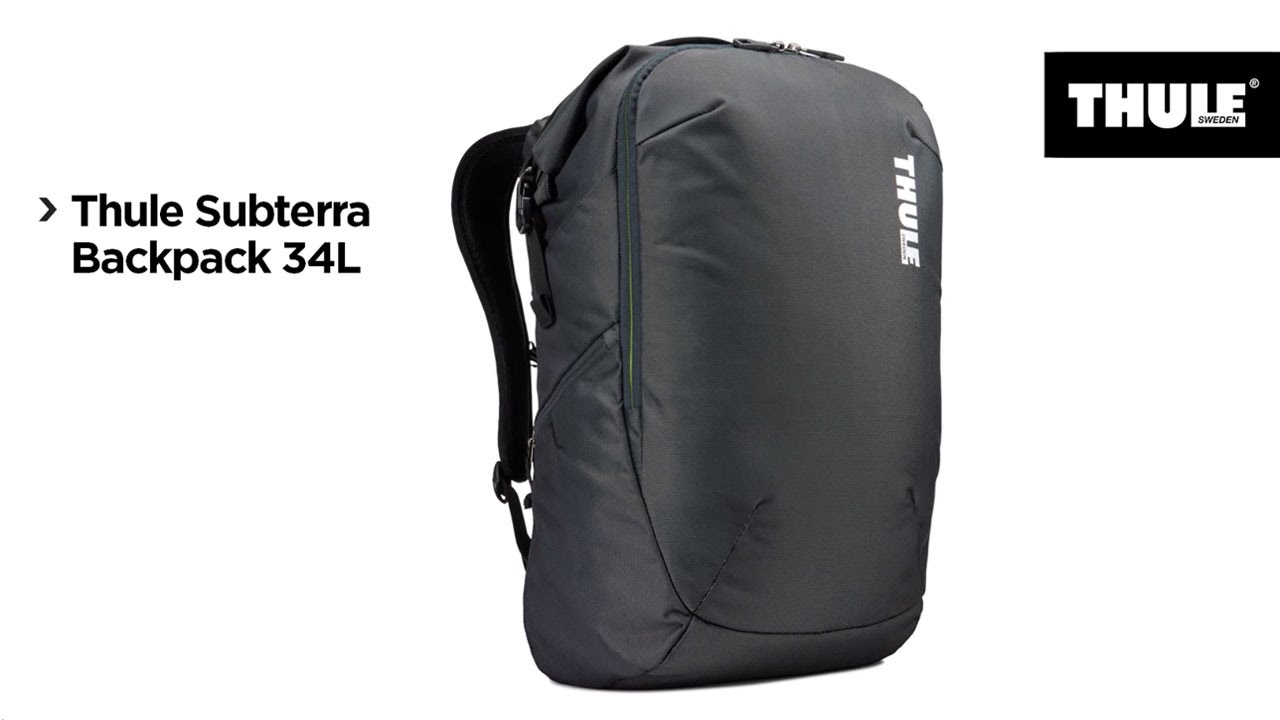 69b2058eb51 Thule Subterra Travel Backpack 34L Zwart - Coolblue - Voor 23.59u, morgen  in huis