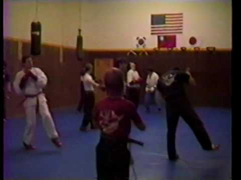 Gangi Martial Arts Class & Sparring, A M E  in Wheeling, IL 1988 89