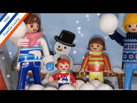 playmobil film deutsch nikolaus bei familie lucky lasst. Black Bedroom Furniture Sets. Home Design Ideas