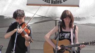 Hayduke - Molly Tuttle and John Mailander at Grass Valley 2013