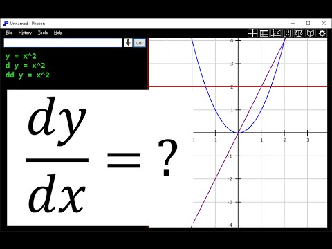 How to graph derivatives with Photon