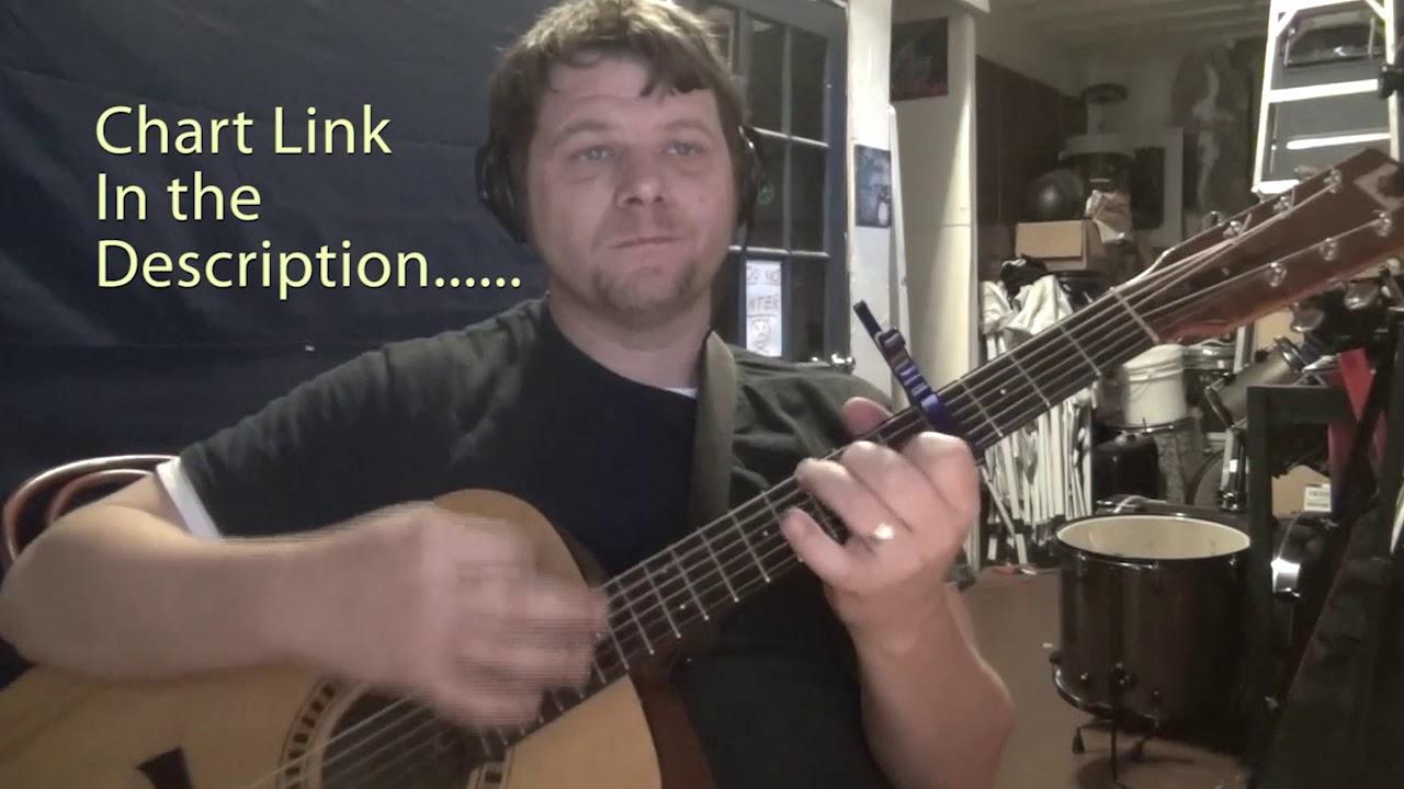 Stars (Skillet) Guitar Lesson Chord Chart - Capo 4th