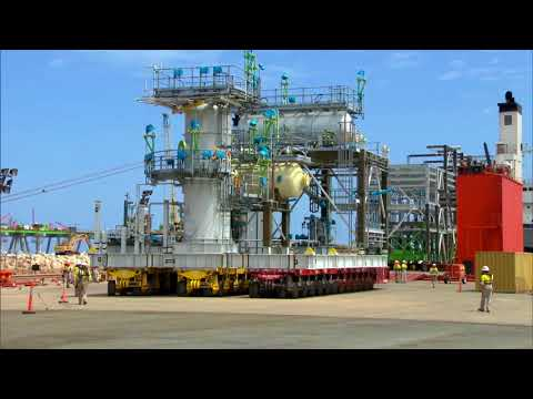LNG Production at Wheatstone