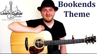 Bookends Theme - Guitar Tutorial - Simon & Garfunkle - Fingerstyle
