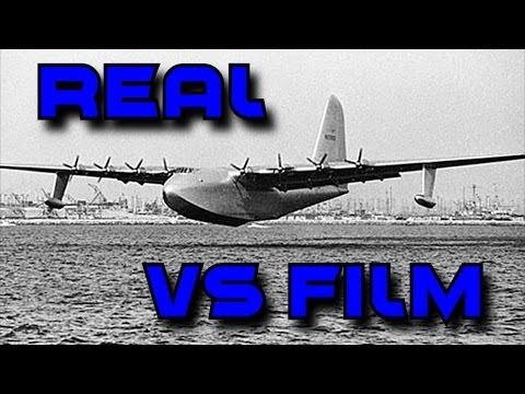 Howard Hughes' Real Flight Of The Spruce Goose (Aviator)