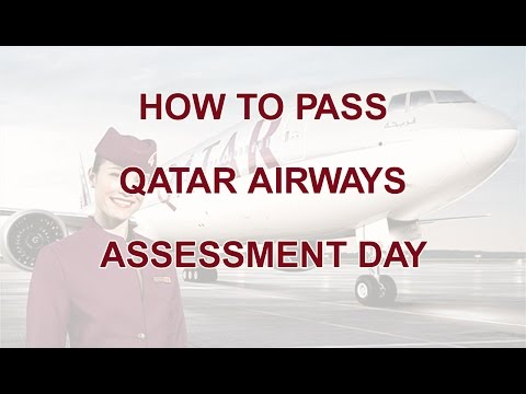 How to pass Qatar Airways Assessment Day