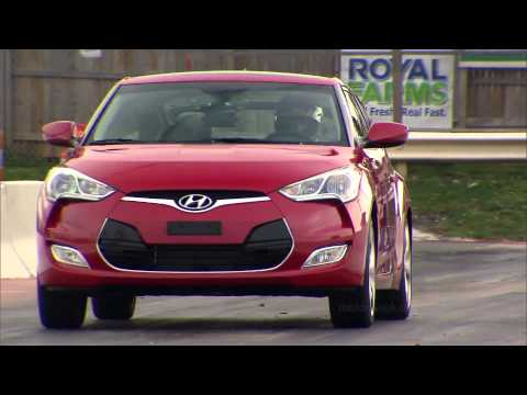 Road Test 2012 Hyundai Veloster