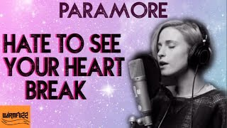 Paramore - Hate to see your heart break (Karaoke/Acoustic)