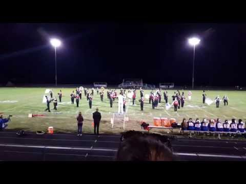 2015-2016 Pleasant Plains High School Marching Band (For Your Eyes Only/Goldfinger)
