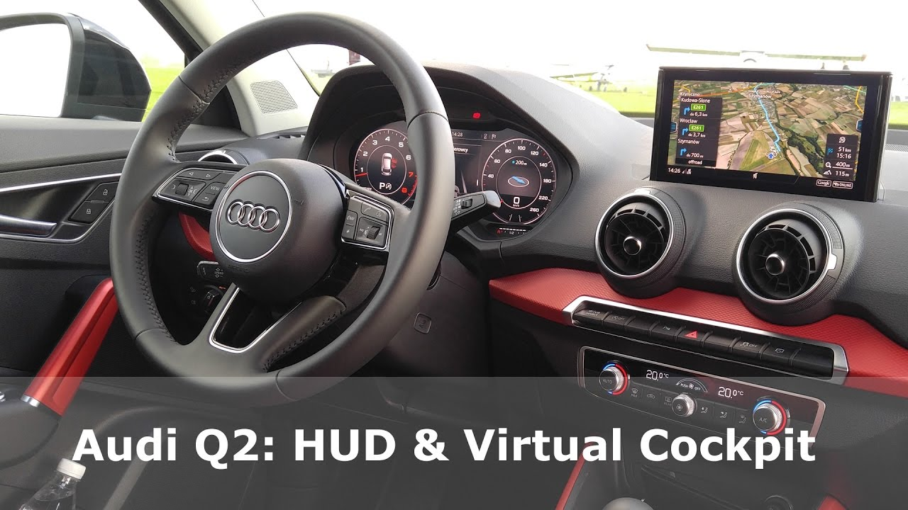 audi q2 hud virtual cockpit presentation 1001cars. Black Bedroom Furniture Sets. Home Design Ideas