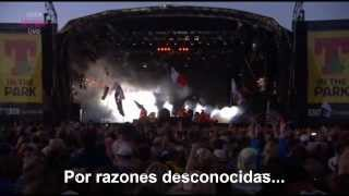 The Killers - For Reasons Unknown (subtitulado) T In The Park 13