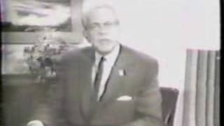 Goldwater 1964 Presidential TV Spot featuring Raymond Massey