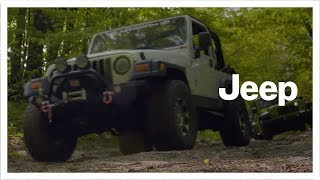 Jeep® | Silver Lake Sand Dunes Jeep® Invasion | Father and Son
