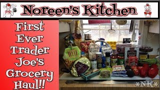 Our  First Visit To Trader Joe's Haul ~ Noreen's Kitchen
