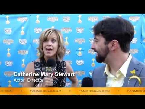 Moguls TV : 41st Saturn Awards with Catherine Mary Stewart & host Zak Vaudo