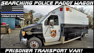 Searching A Police Paddy Wagon Prisoner Transport Van! thumbnail