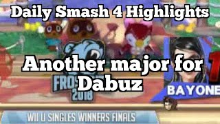 Daily Smash 4 Highlights: Another major for Dabuz