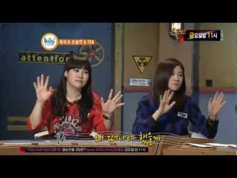 [121112] 15& (Park Jimin, Baek Yerin) 박지민, 백예린 On M.NET  Beatlescode2 [PART 2/2]